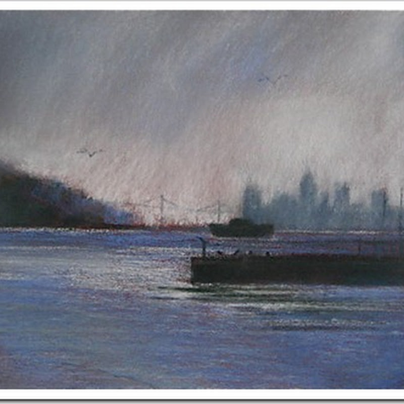 Wendy Goldberg – Moody Landscape Based Pastel Paintings