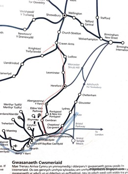 Knighton to Chepstow