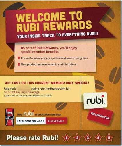 Rubi Kiosk #shop