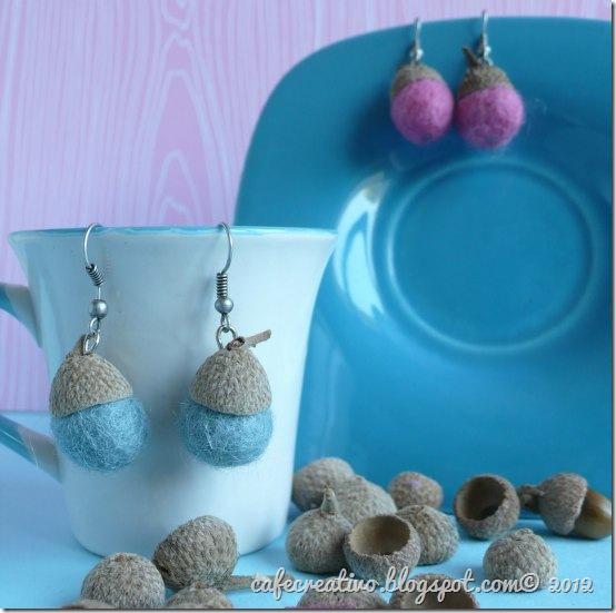 cafecreativo - orecchini riciclo creativo
