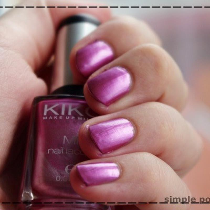 Essie a cut above & Kiko Mirror 618