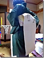 名古屋帯の練習♪ (2)