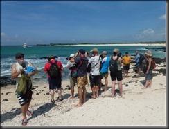 Group on beach 4
