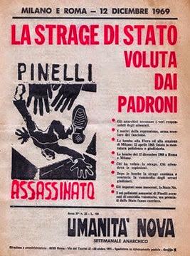 La Notte Della Repubblica 12-12-1969