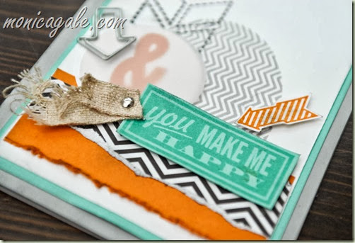 Stampin'Up! Hello Lovely male anniversary close