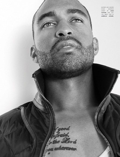 Matt Kemp by Tony Duran for Flaunt #117 (2011). Styled by Mui-Hai Chu