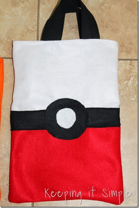 Pokemon Trick Or Treat Bags (6)