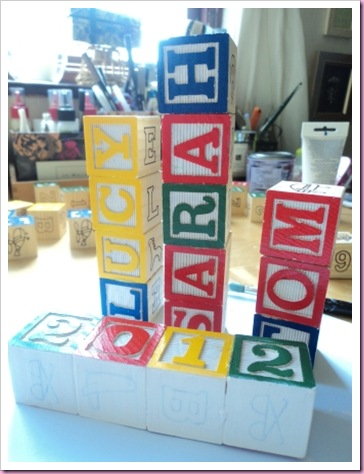 Alphabet Block Names