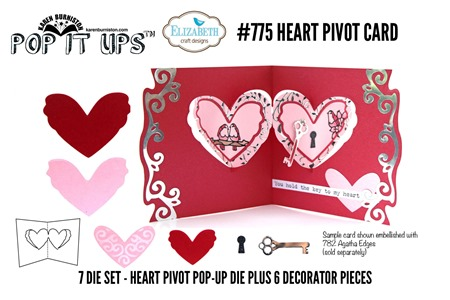 775 Heart Pivot Card