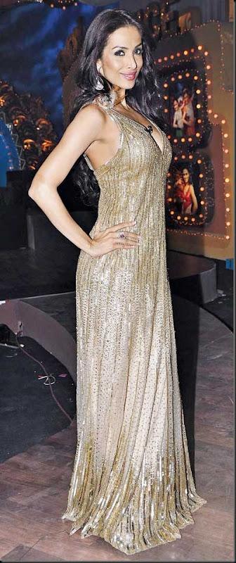 Malaika, Genelia on the sets of Saroj Khan Show8