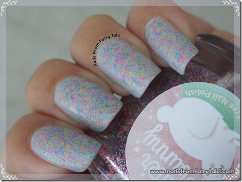 Glitter Bunny - Flip Flop Madness swatch 4