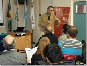 El encuentro se desarrolló en el Aula Magna de la sede central de la Universidad Atlántida Argentina de Mar de Ajó