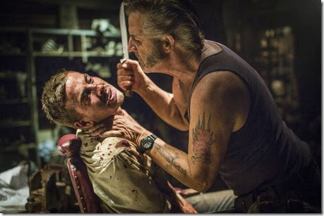 WolfCreek2_John-Jarratt-as-Mick-Taylor-and-Ryan-Corr-as-Paul_Micks-torture-chamber-7