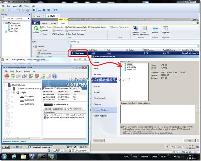 Virtualization Lab SCVMM 2012 RC