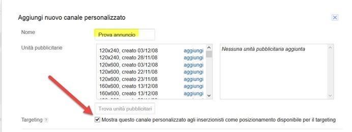 annuncio-personalizzato-canale