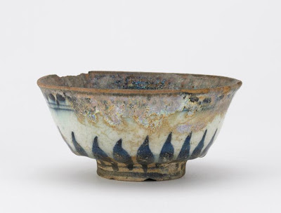 Bowl | Origin:  Syria | Period: 14th-15th century? | Details:  Not Available | Type: Stone-paste painted under glaze | Size: H: 6.2  W: 12.9  cm | Museum Code: F1902.245 | Photograph and description taken from Freer and the Sackler (Smithsonian) Museums.