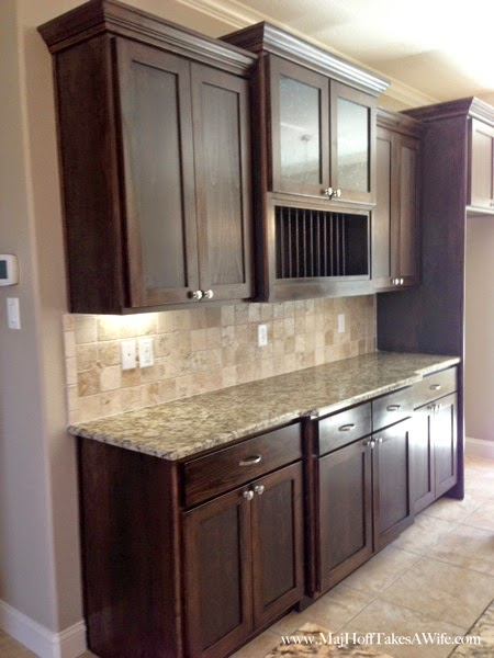 Standard builder cabinets for Texas