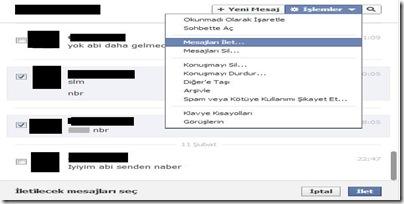 facebook-mesaj-ilet