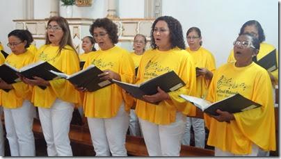 Coral de Belém anima a Santa Missa