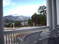 Longs Peak from the Porch