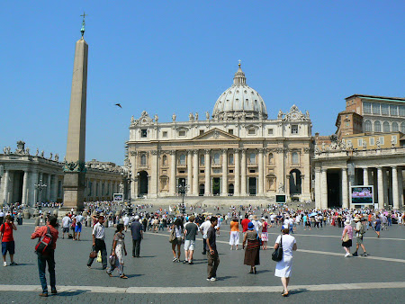 Obiective turistice Roma: Piata San Pietro