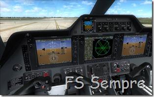 Cockpit totalmente funcional!