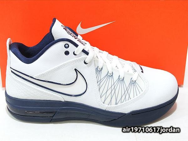 New LeBron Sig Nike Air Max Ambassador IV 8220White  Navy8221