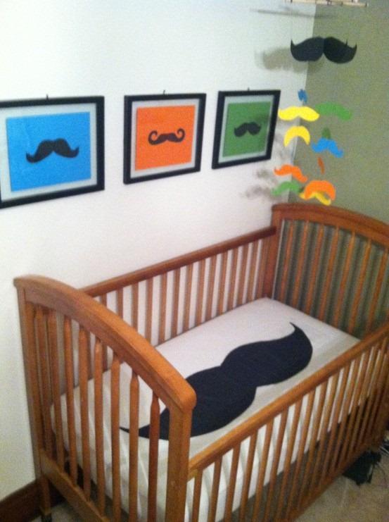 mustache nursery