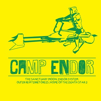 Rhys Kitson - CAMP ENDOR (tshirt design)