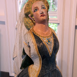 An Old Sailing Ship Figurehead Of A Woman On Display In The Museum - St. George's, Antigua