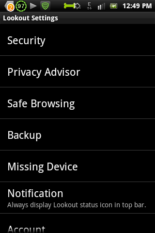 lookout security dan antivirus apk
