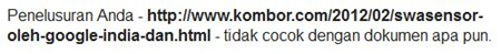 blogspot custom domain tidak diindeks google ----