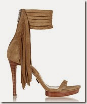 Michael Kors Fringed Suede Sandals