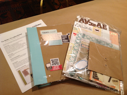 No rules scrapbooking class