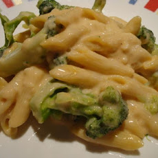 Penne in Creamy Garlic Cheese Sauce (Ww)