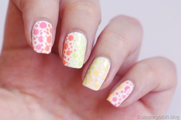 Maybelline-Bleached-Neons-Polka-Dots-3