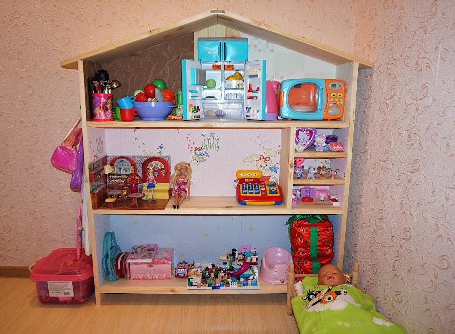 Кукольный домик своими руками - 66 фото создания 76