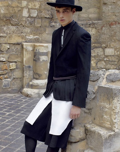 Adrien Sahores  by Anthony Maule for VMan #23, September2011