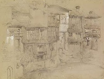 John_Ruskin_Italian_Village_