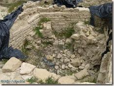 Restos del castillo de Aibar