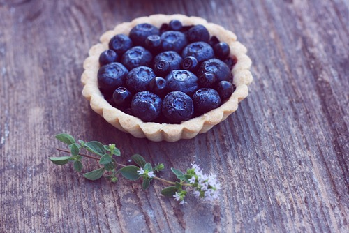 Blueberry tartlets 8