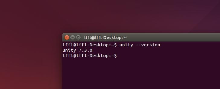 Unity 7.3.0