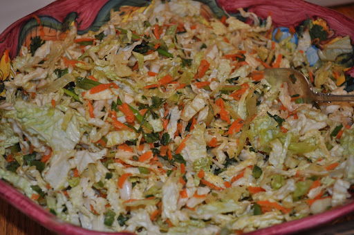Asian Cabbage Slaw from Everyday Food