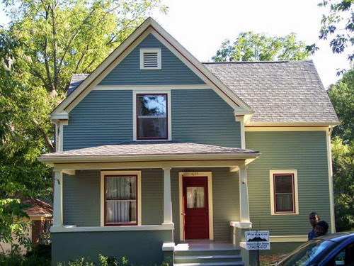 Exterior paint color schemes casual cottage - Paint schemes exterior minimalist ...