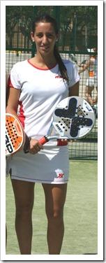 Teresa Navarro jugadora del equipo NOX Campeona de España SUB 23 en Valladolid.