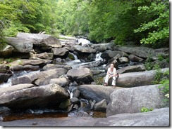Hiking in Gorges S.P NC