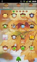 Screenshot of GO Luncher EX Theme Oak Tree