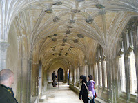 Lacock Abbey cloisters