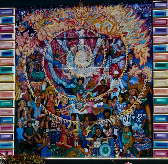 Flynn Elementary Spirit of Mankind Mural