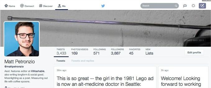 Este sería el nuevo diseño de interfaz de Twitter